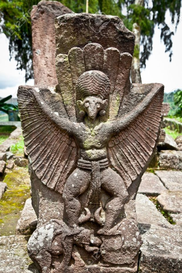 Man Bird Candi Sukh temple